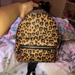 Coach Mini Backpack Cheetah Print